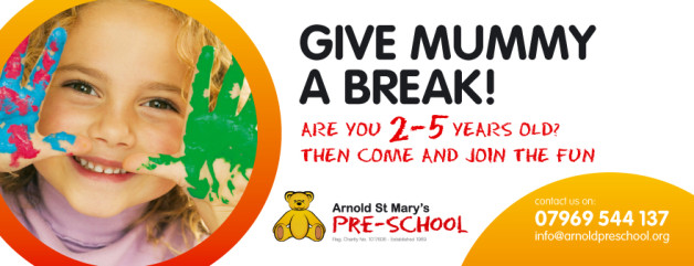 Advert for the pre-school