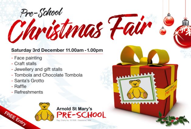 Arnold St. Mary's Pre-School Xmas Fair