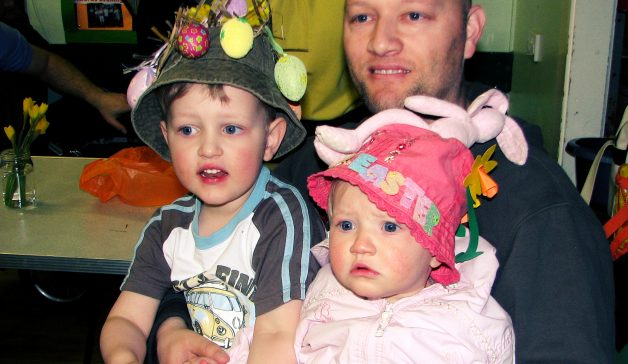 Easter Bonnet Parade at Arnold St. Mary's Pre-School