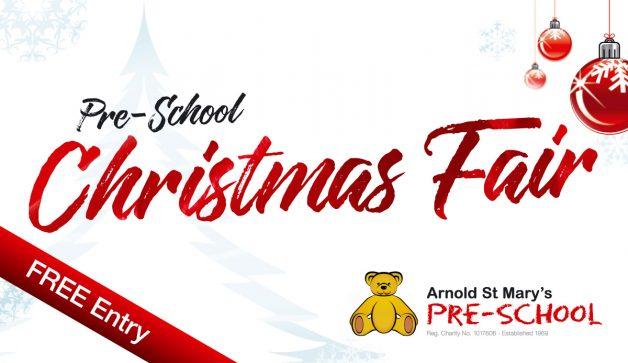 Christmas Fair Arnold St. Mary's Pre-School