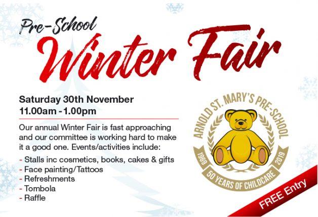 Advert for the Winter Fair 2019