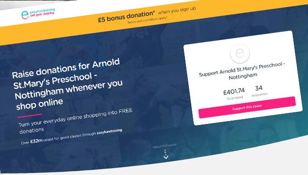 Easyfundraising image